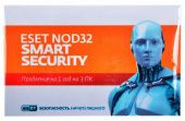Антивирус Eset ESET NOD32 Smart Security NOD32-ESS-RN(CARD3)-1-1
