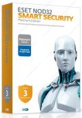 Брандмауэр Eset NOD32 Smart Security. Platinum Edition