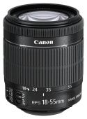 Объектив Canon EF-S IS STM (8114B005) 18-55мм f/3.5-5.6 черный