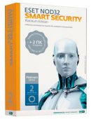 Антивирус Eset ESET NOD32 Smart Security Platinum Edition NOD32-ESS-NS(BOX)-2-1