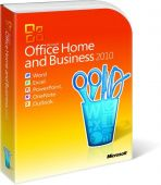 Офисный пакет Microsoft Office Home and Business 2010 32-bit/x64 Russian Russia DVD T5D-00415