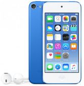 Плеер MP3 Apple 128GB iPod touch Blue MKWP2RU/A