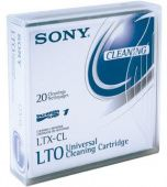 Носитель ленточный Sony Ultrium Universal Cleaning Labeled Cartridge LTXCLN-LABEL