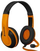 Гарнитура Defender GAMING WARHEAD G-120 BLACK/ORANGE 64099