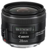 Объектив Canon EF IS USM (5179B005) 28мм f/2.8 черный