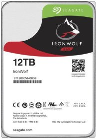Жесткий диск SATA HDD Seagate 12TB IronWolf NAS HDD ST12000VN0008