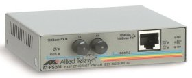 Конвертор Allied Telesis 10/100TX (RJ-45) to 100FX (ST) AT-FS201