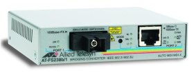 Медиаконвертер Allied Telesis Single-fiber 10/100M bridging converter with 1310Tx/1550Rx AT-FS238A/1-YY