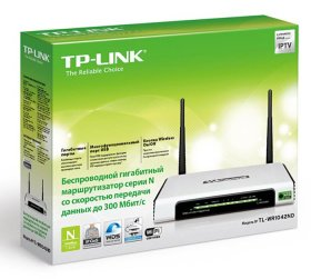 Маршрутизатор WiFI TP-Link TL-WR1042ND