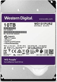 Жесткий диск SATA HDD Western Digital 10Tb Purple WD101PURZ