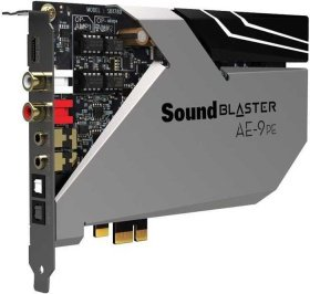 Аудиокарта Creative PCI-E Sound Blaster АЕ-9 PE (Sound Core3D) 5.1 Ret 70SB178000001